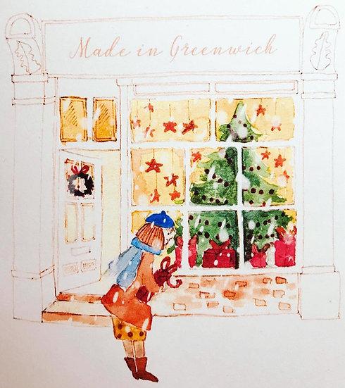 GCDA Made in Greenwich Christmas Card 2020