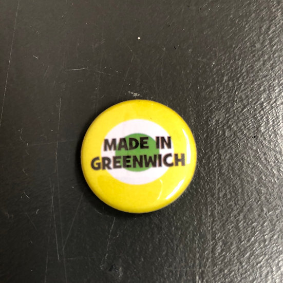 Made in Greenwich pin badge