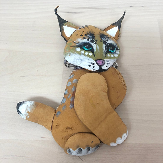 The purrfect puss brooch