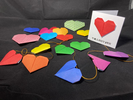 Mindful origami - Valentine workshop