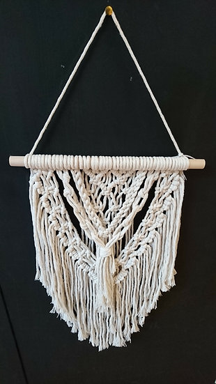 Multi layered Large Macrame Wall Hanging - Moon and Star