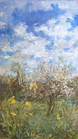 'Spring Air' by Greenwich artist Emily Patrick