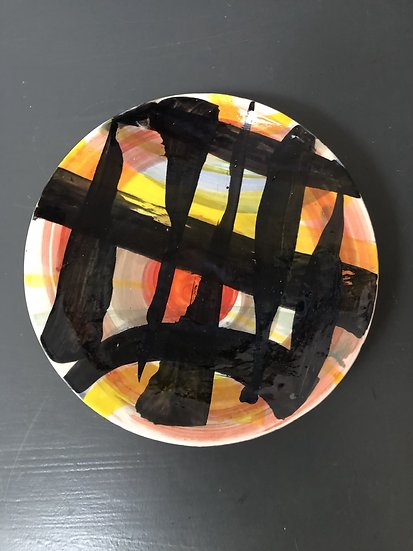 Splash Pattern Plate