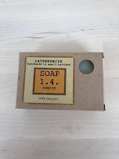 LatherSmith handmade soap 1.4 in Pumice
