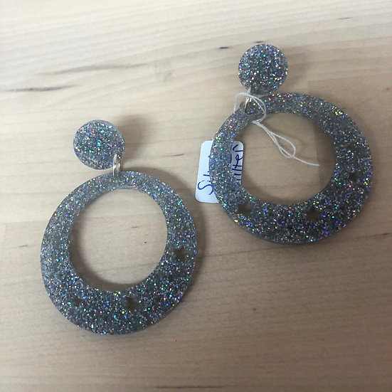 Carly Dove sparkly earrings to brighten up your life !