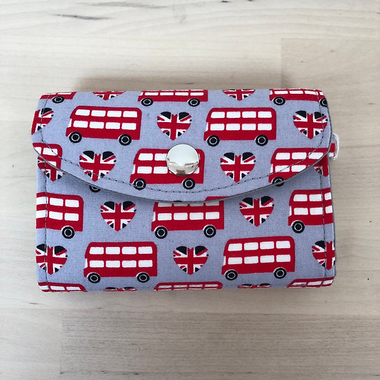 London bus wallet by Bluebell Marsh