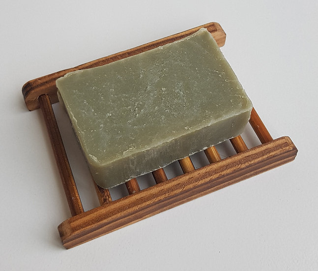 LatherSmith handmade soap 1.6 in Green Clay