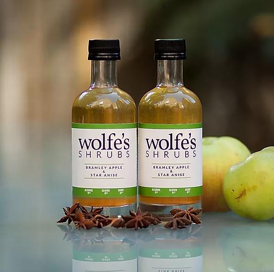 Bramley Apple & Star Anise Wolfe's Shrub 250ml