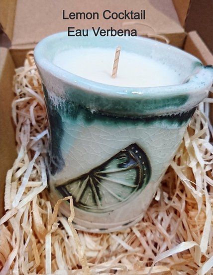 Scented Ceramic Candle - Fiona Veacock