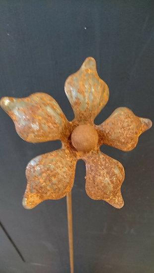 Flower Head 3 Garden Ornament - Hayley Ilett