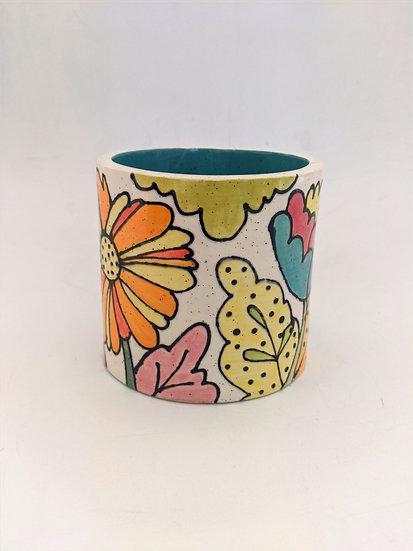 Flower Power Pot - Titterpot Design