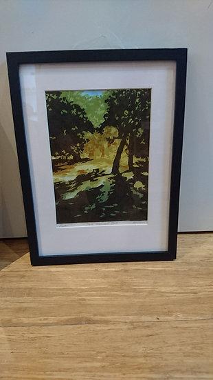 Sun, Greenwich Park. Framed. Edition Varied - Ann Hillary