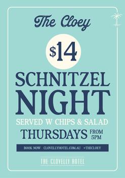 Schnitzel Poster