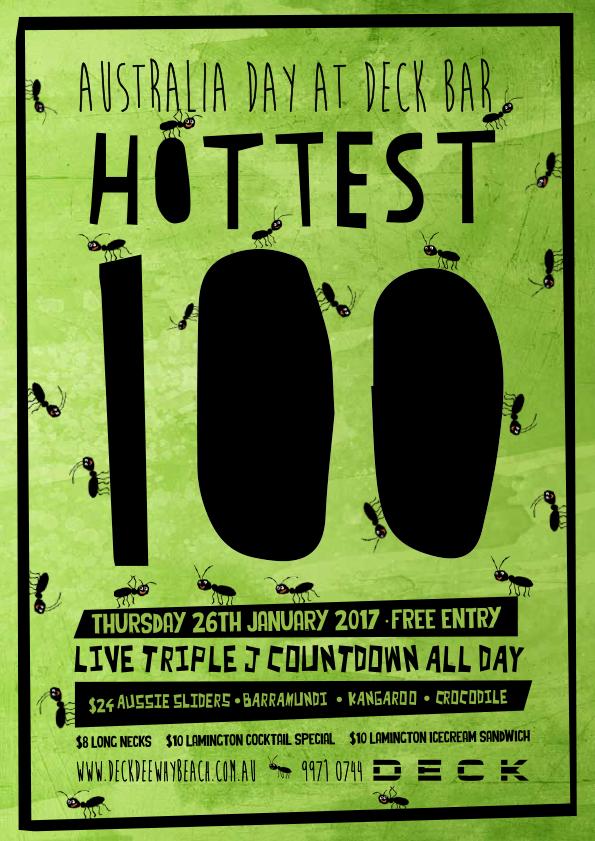 Triple J Hottest 100 Poster