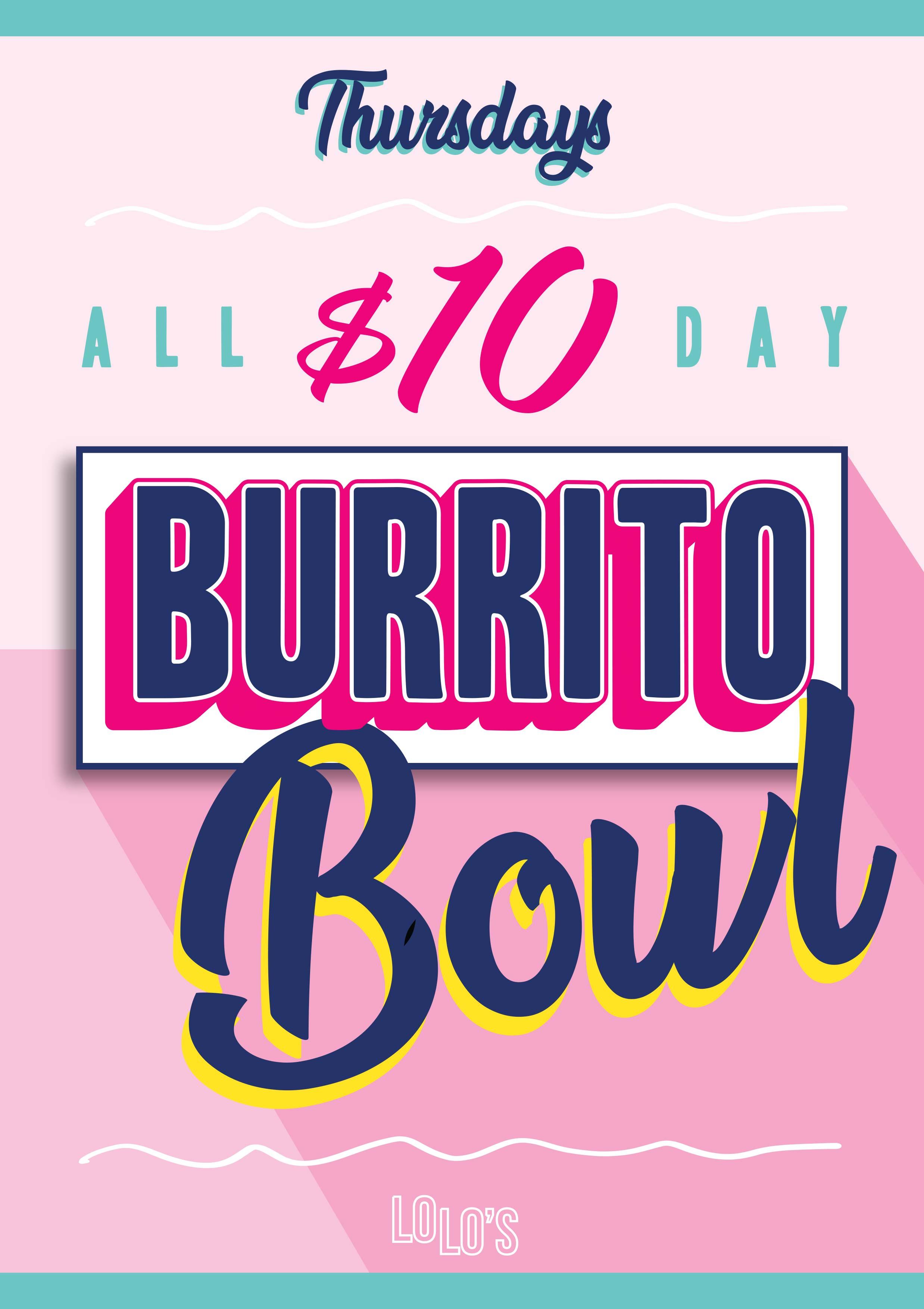 Burrito Bowl Poster