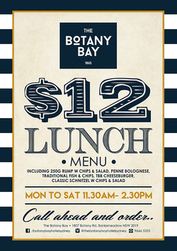 Lunch specials poster