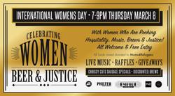 International Women's Day POS Screen