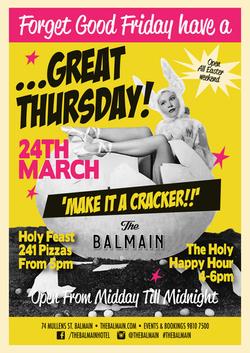 Easter Long Weekend Poster