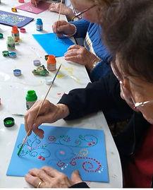 Arteterapia para Idosos na Home Seniors.