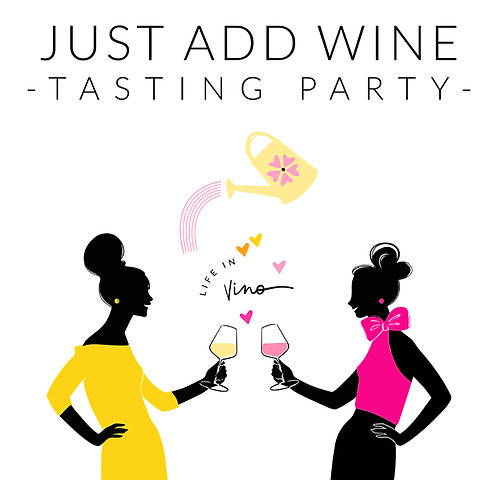 """Just Add Wine"" Tasting Party Kit"