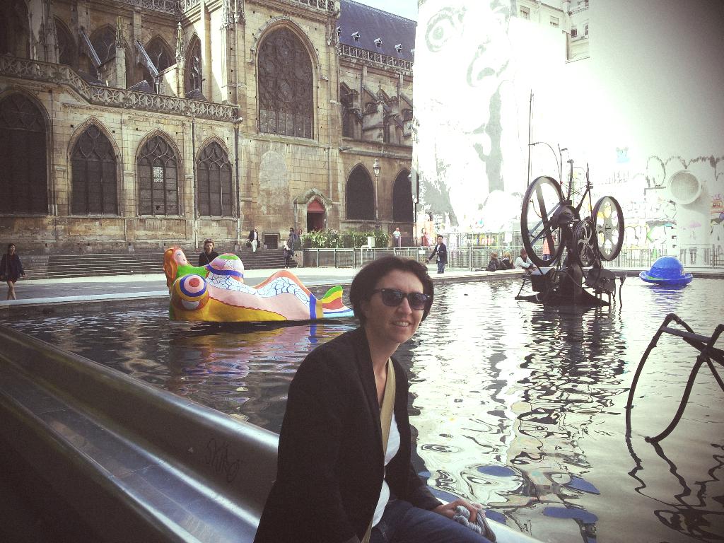 Marceline @ Expo Niki de St Phalle