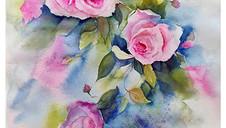 Cascading Roses
