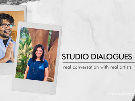 Decoding the process of learning watercolours with Vikrant Shitole