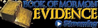 Book of Mormon 8 Evidence Streaming Logo