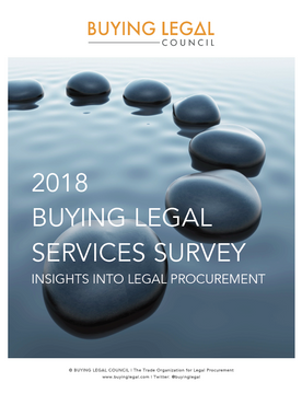 2018 Buying Legal Services Survey
