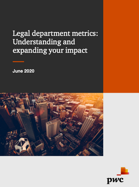 Legal department metrics: Understanding and expanding your impact