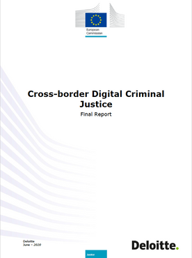 Cross-border digital criminal justice (EU Report by Deloitte)