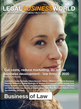 LegalBusinessWorld eMagazine 2020 - ed. #3