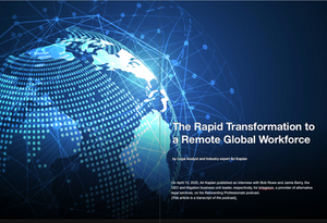 Ari Kaplan Article Legal Business World about Remote work