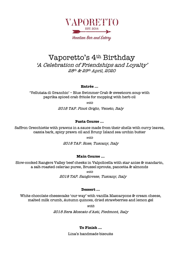 Vaporetto 4th birthday menu.png