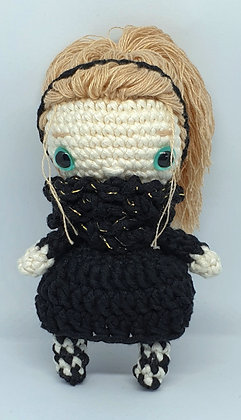 Doll with Blond Hair