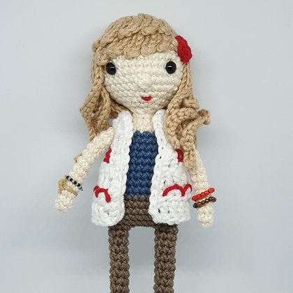 Hippie Doll in White Vest