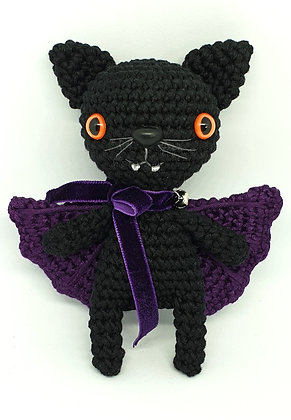 Black Cat Halloween Catcula
