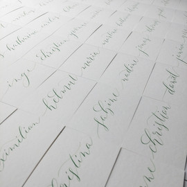 Wedding Place Cards con't