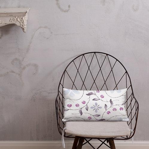 Vines & Berries Premium Pillow