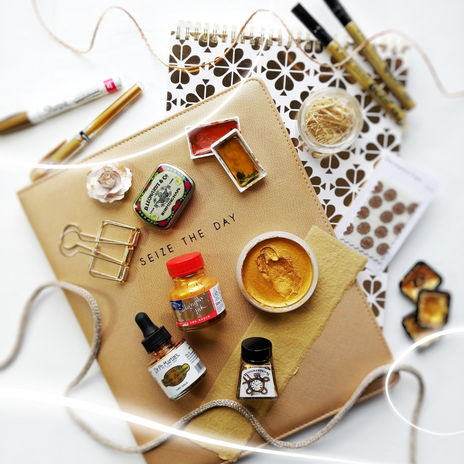 Gold Art and Calligraphy Supplies