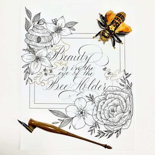 Beauty is in the Eye of the Bee-Holder
