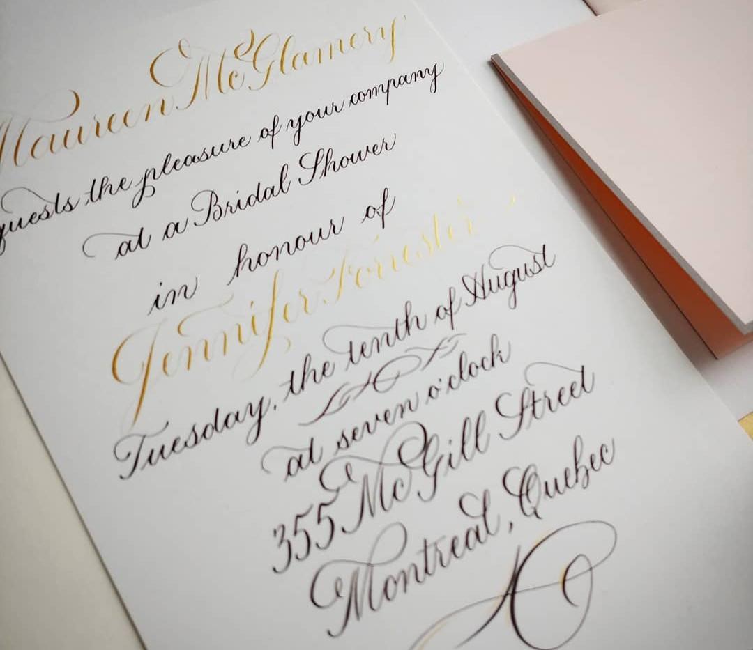 Invitation Close Up