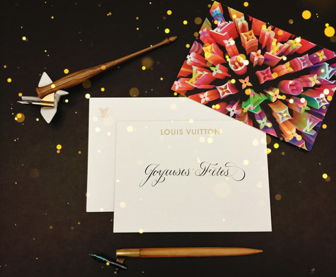 Louis Vuitton Holiday Cards