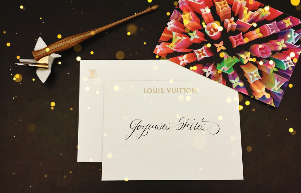Louis Vuitton In Store Holiday Event
