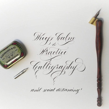 On-site brand calligraphy events, and why they're awesome!