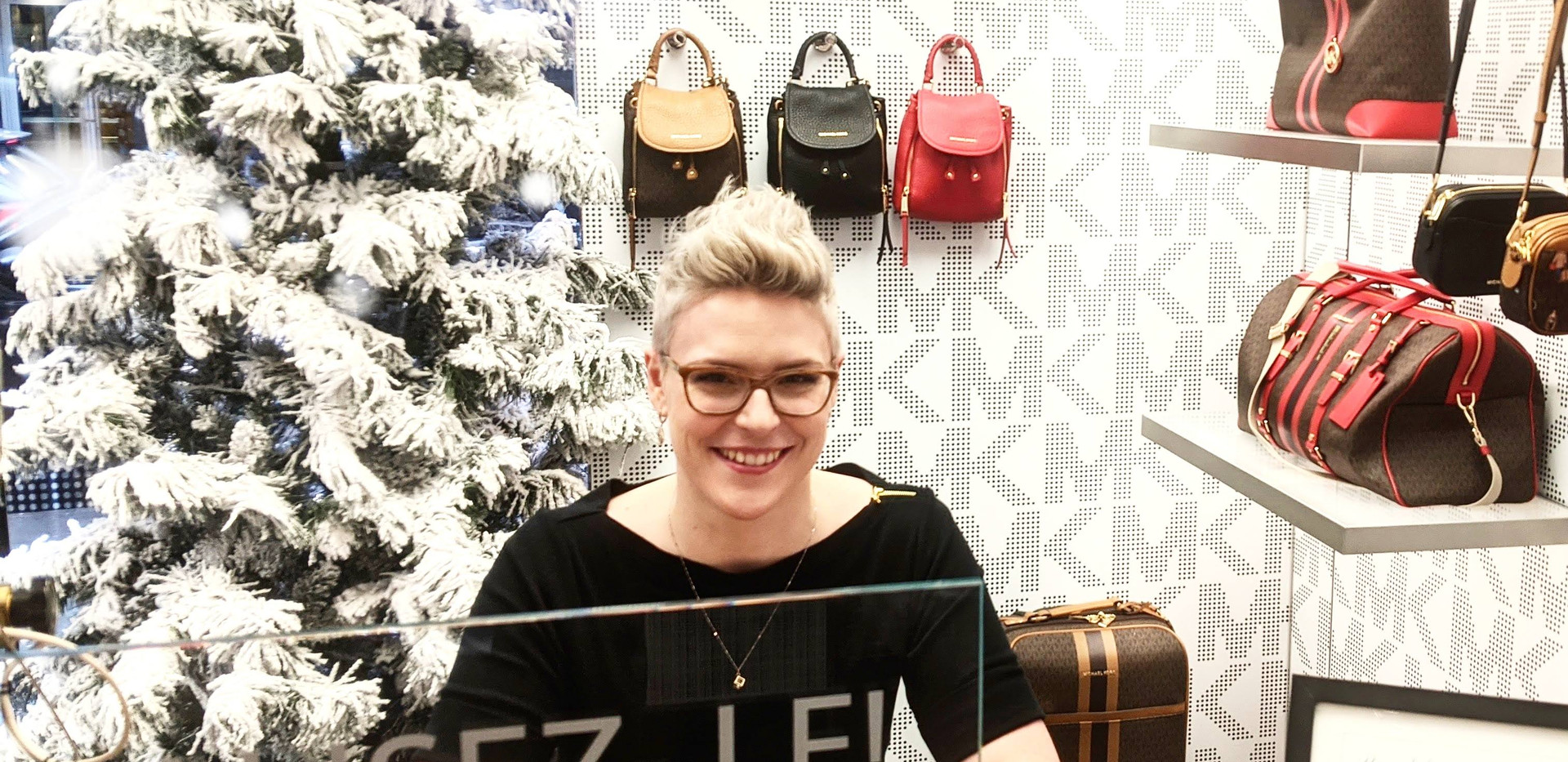 On-Site Michael Kors Holiday Event