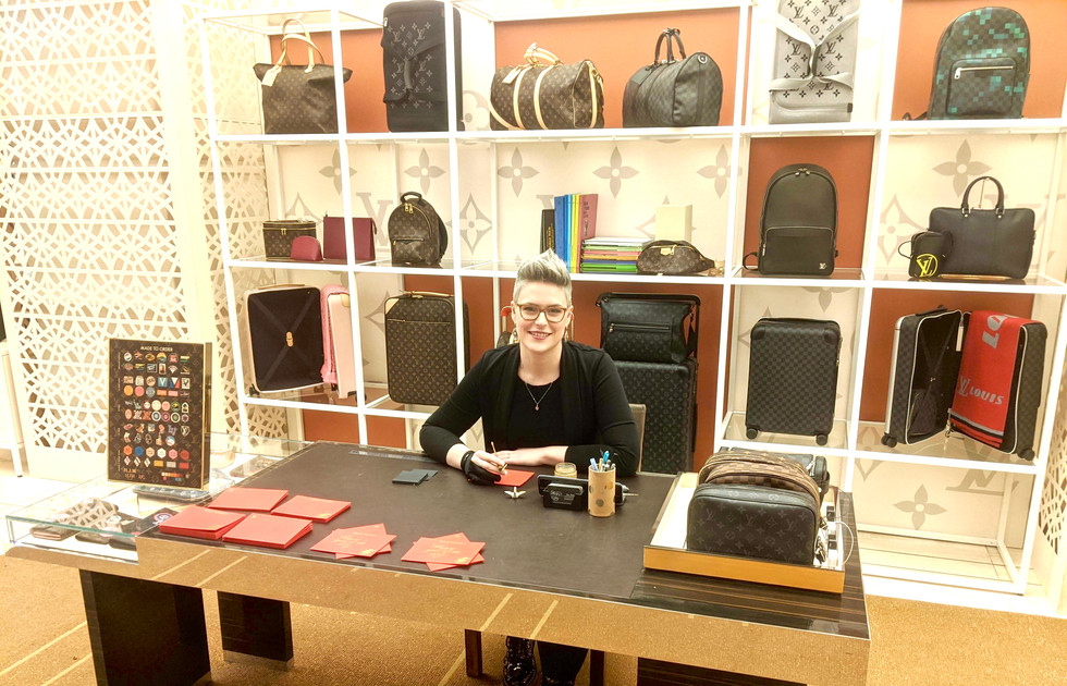 Louis Vuitton In-Store Lunar New Year Event