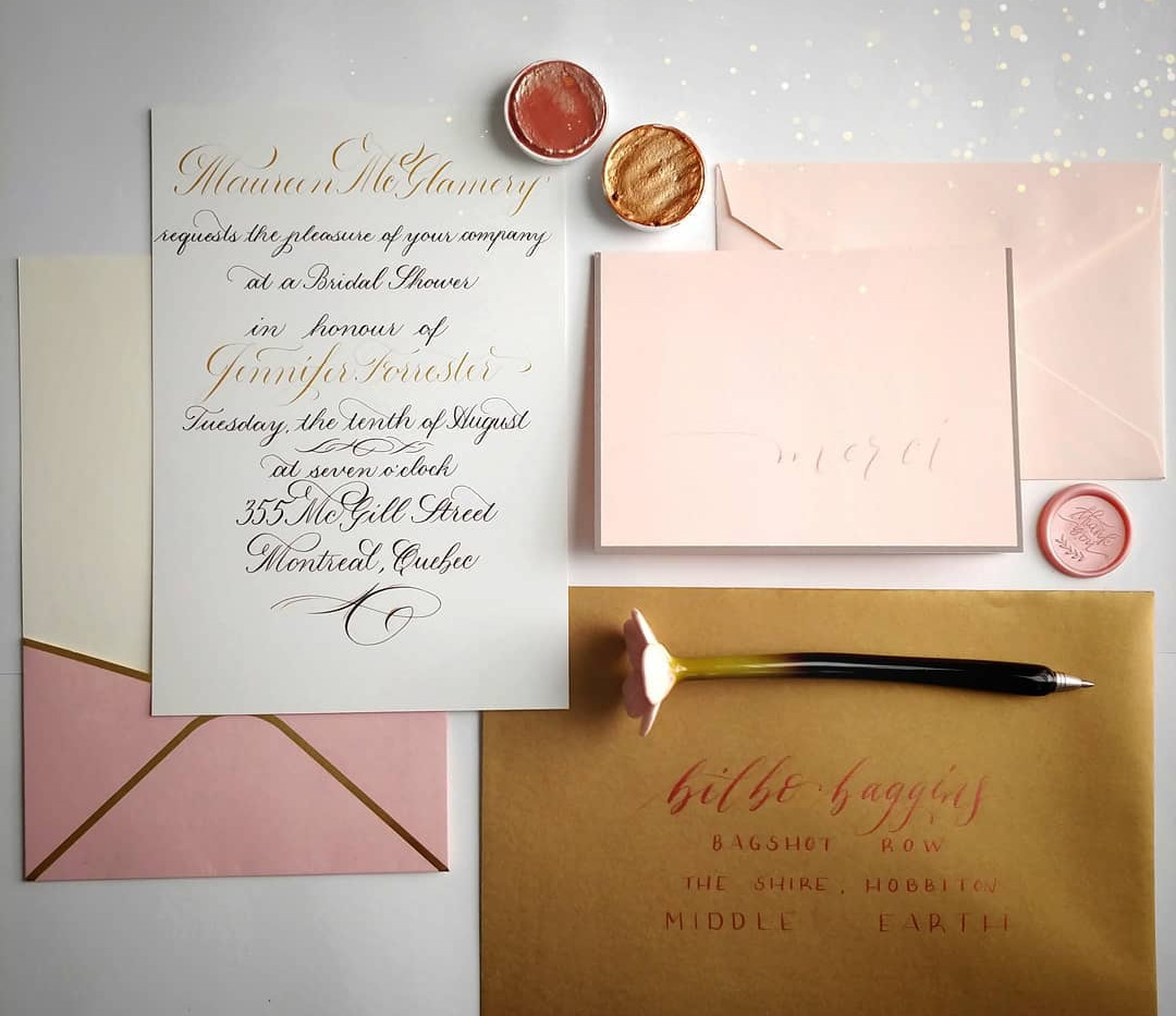 Bridal Shower Sample Invitation