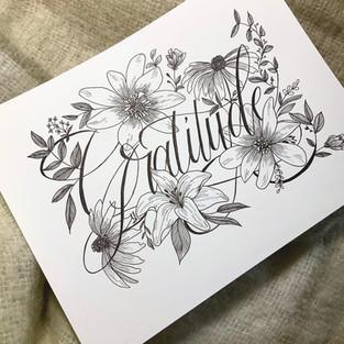 Floral Gratitude