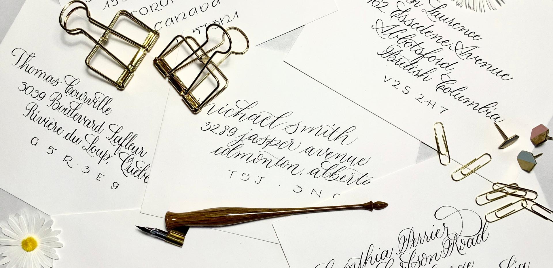 Envelope Script Styles